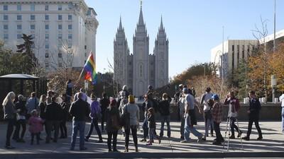 Mormon Church Leaders Discuss 'Homosexual Agenda' in Leaked Videos