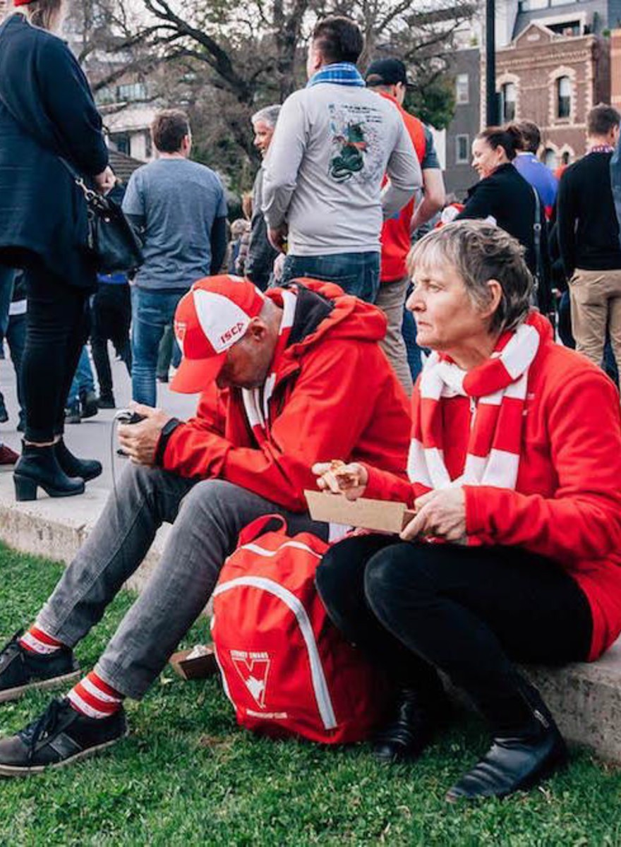 Sad Photos of Sydney Fans After the Grand Final
