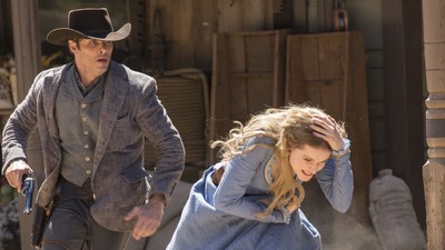 ​The First Episode of 'Westworld' Was a Gorgeous, Sweeping Bloodbath
