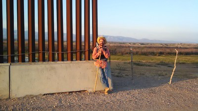 We Talked to the Man Walking the Length of the US-Mexico Border