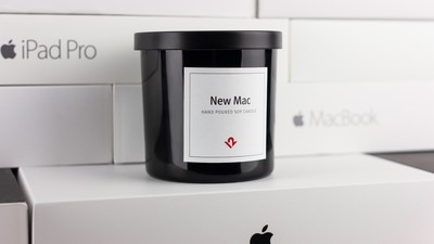 This Candle Will Apparently Make Your Room Smell Like a New Mac