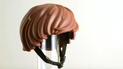 Bad-Hair-Day? Jetzt gibt es einen Fahrradhelm aus Lego-Haaren