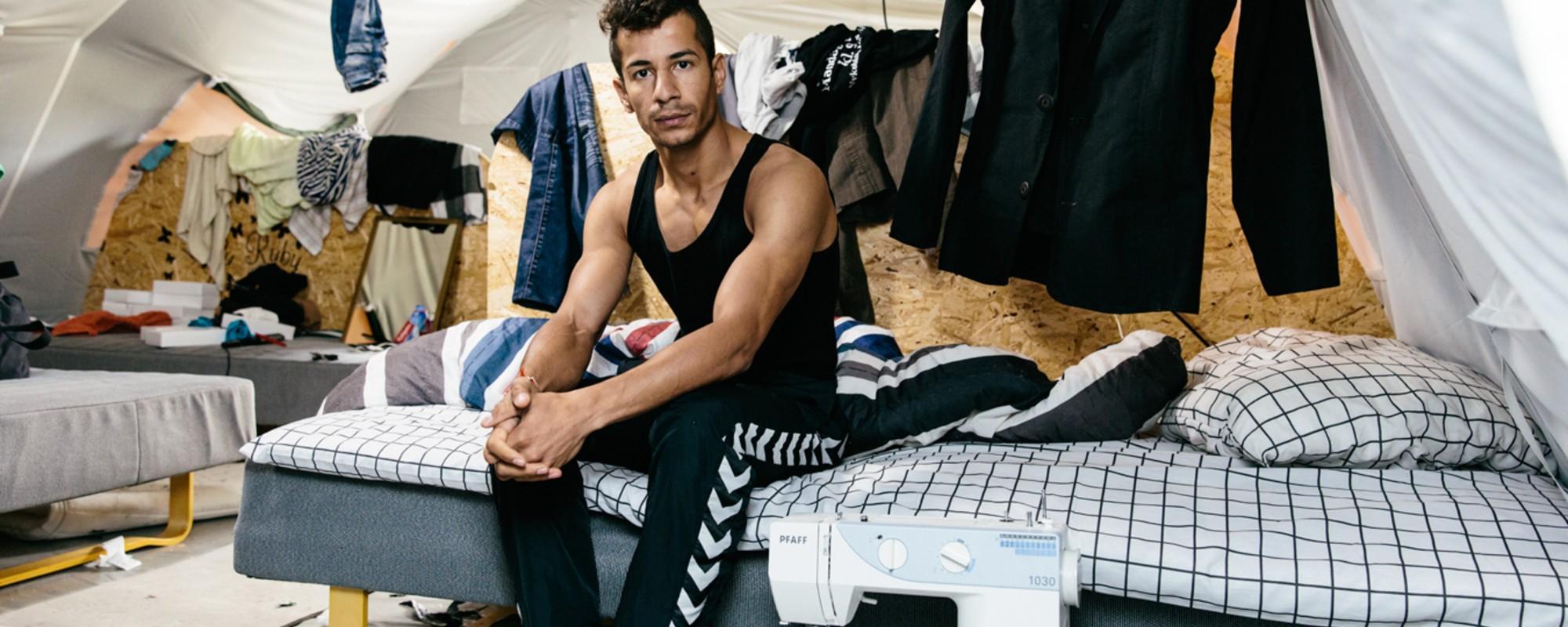 Billeder fra Danmarks mest udskældte asyllejr lige før lukketid