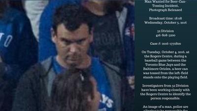 Beer-Tossing Blue Jays Fan Identified as Local Journalist Ken Pagan