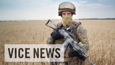 Na linha da frente da guerra entre o Ocidente e a Rússia em território ucraniano