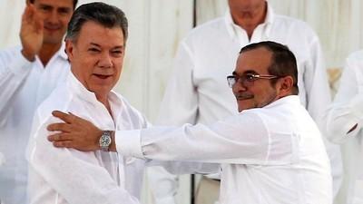 O presidente colombiano levou o Prêmio Nobel apesar do acordo de paz fracassado