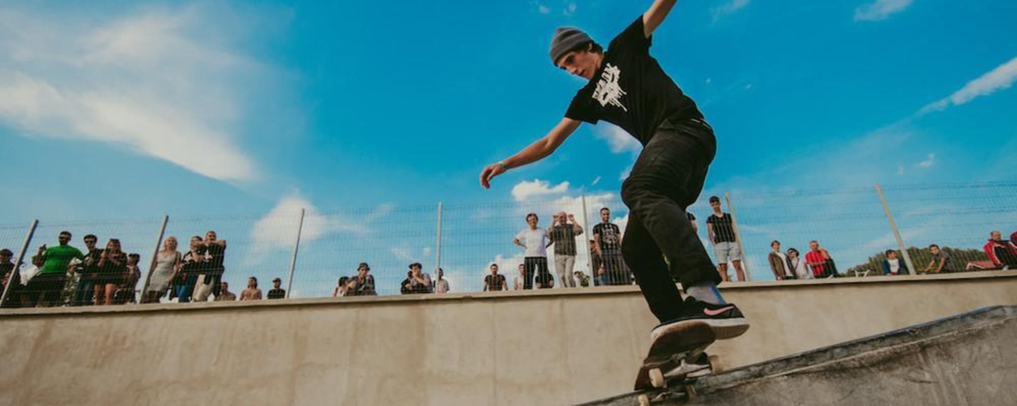 Am fost la inaugurarea primului skatepark din Baia Mare, pe care-l așteptam de zece ani