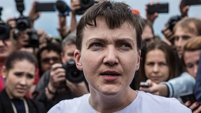 Ukraine's Most Famous Political Prisoner Trades Hunger Strikes for Parliament