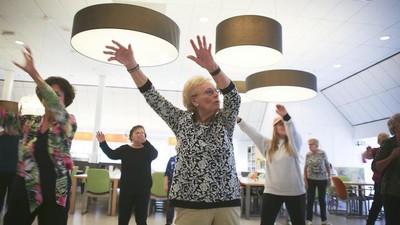 Ik volgde een cursus hiphopdansen voor zestigplussers
