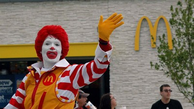 Ronald McDonald Is Going Away Until People Like Clowns Again