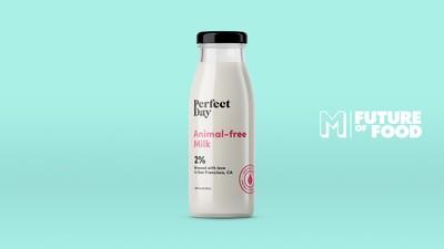En esta empresa fabrican leche de vaca sin vacas