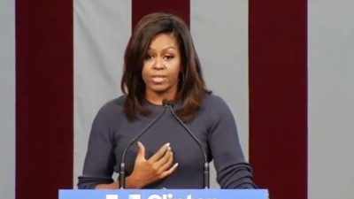 Michelle Obama Can't Believe Donald Trump Is Still an Option for President