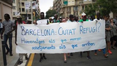 Spanje loopt hopeloos achter in het opvangen van vluchtelingen