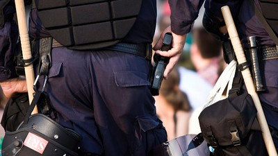 When Should Cops Go for Their Guns?