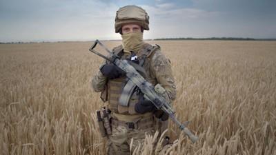 Aan de Oekraïense frontlinie van de oorlog tussen het Westen en Rusland