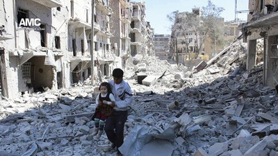 Assad Says Aleppo Will Be Cleaned As Bombing Continues
