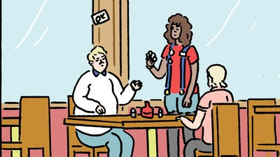 'Comedians Get Lunch,' Today's Comic by Luke Healy