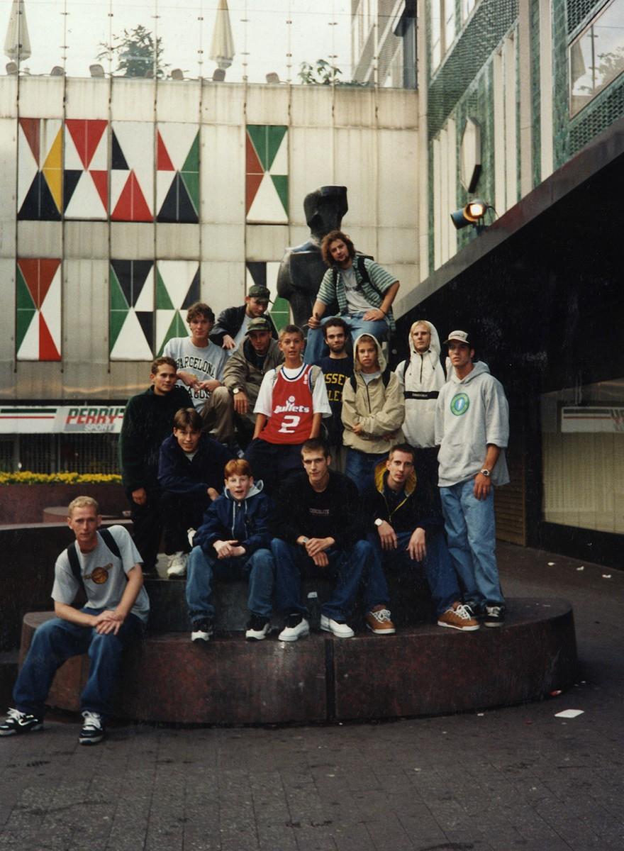 Foto's van de bloeiperiode van de Eindhovense skatescene