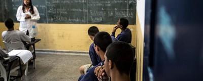 Os professores que ensinam menores infratores