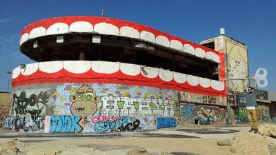 Izraelský street art v Praze
