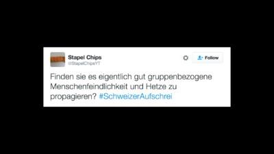 Wir haben Tweets zum #SchweizerAufschrei nach Dummheit sortiert