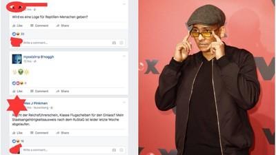 Xavier Naidoo tritt in Leipzig auf und das Internet trollt ihn hart