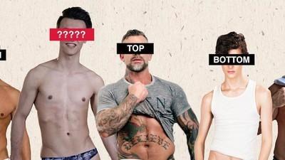¿Es posible reconocer si un hombre gay es activo o pasivo?