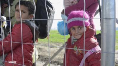 Halvdelen af verdens flygtninge er nu børn