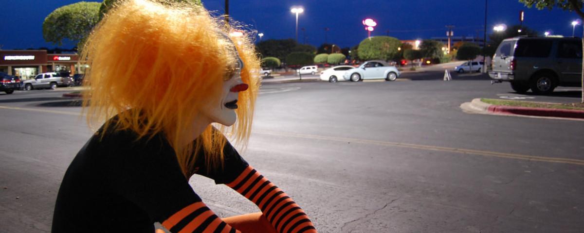 in sterreich wurde der erste grusel clown entdeckt vice alps. Black Bedroom Furniture Sets. Home Design Ideas
