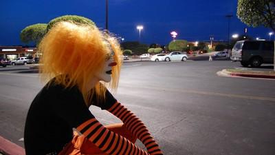 In Österreich wurde der erste Grusel-Clown entdeckt