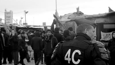 Dans la « jungle » de Calais, en attendant le démantèlement