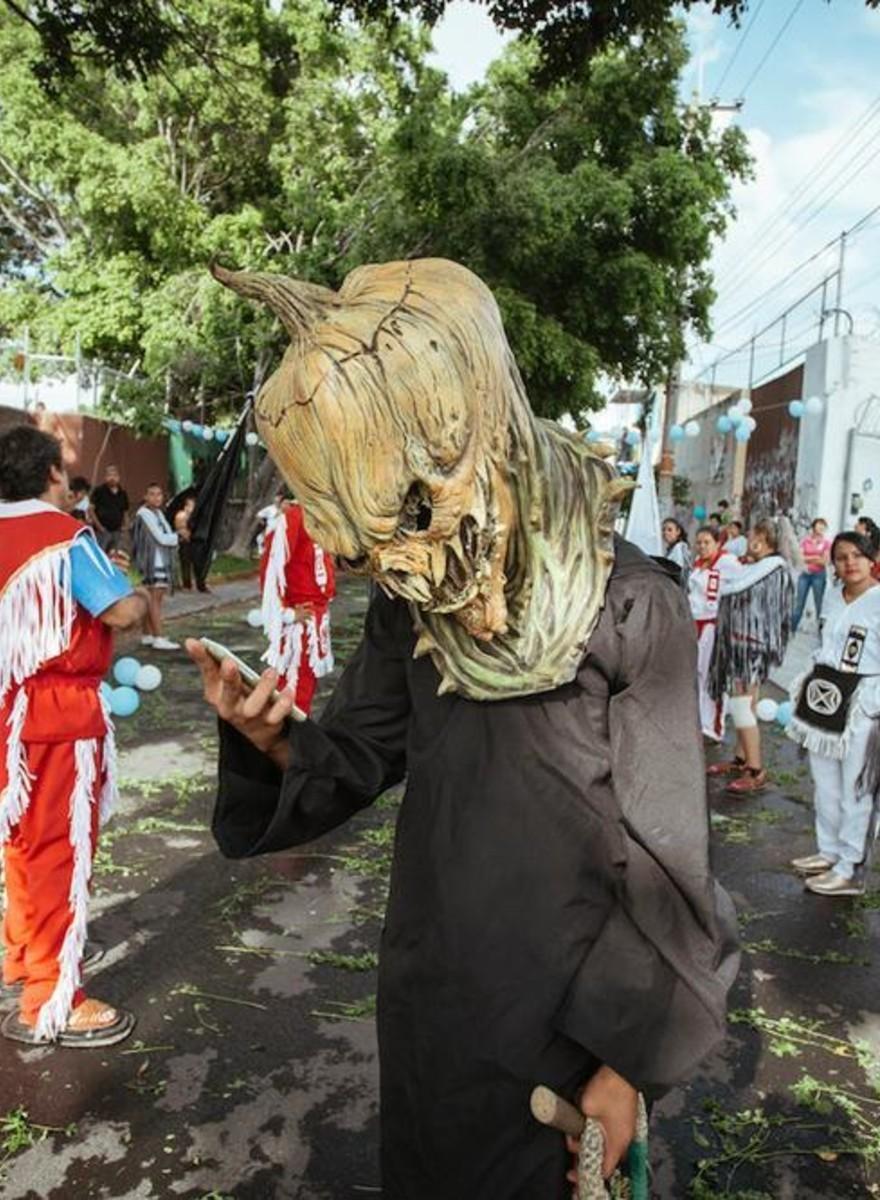 Fotos de un ritual en Jalisco que muestra que la religión es más que sólo reliquias