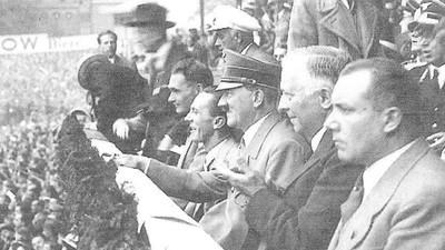 Le dernier match de football en Allemagne nazie