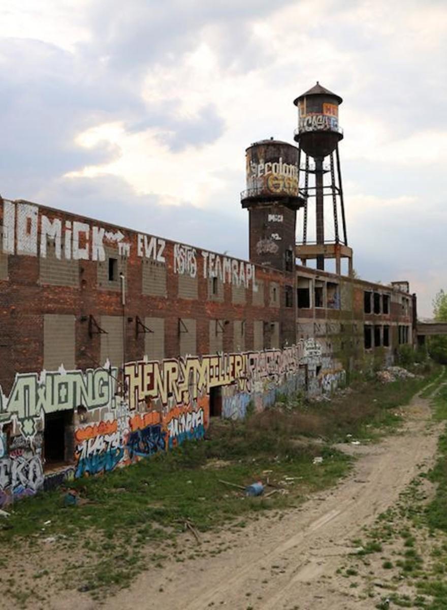 A limpeza de Detroit apagou parte da história universal do graffiti