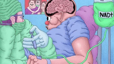 Mi-am făcut o injecție pentru repornirea creierului