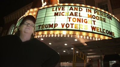 Michael Moore's 'TrumpLand' Aims to Convince Bernie Bros That Hillary Is Fine