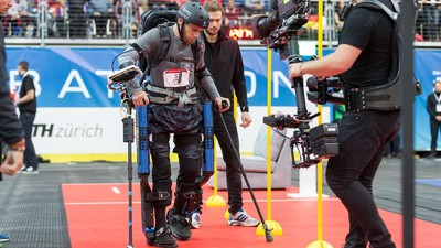 The Cybathlon: Where Parapalegics Walk Again