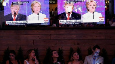 Por que os debates presidenciais dos EUA foram tão escrotos