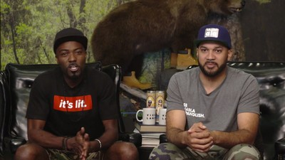 Desus & Mero Are All About Michelle Obama's Versace Dress