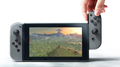 A nova Nintendo chama-se Switch e podes levá-la para onde quiseres