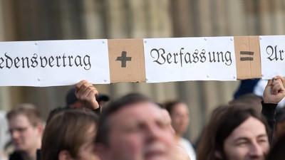 """""""Viele Reichsbürger besitzen Waffen, um für den Kampf gegen den Staat gerüstet zu sein"""""""
