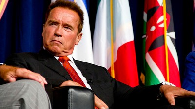 Arnold Schwarzenegger Wishes He Could Have Run for President This Year