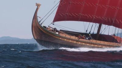 Diese Crew überquert mit einem echten Wikingerschiff den Atlantik