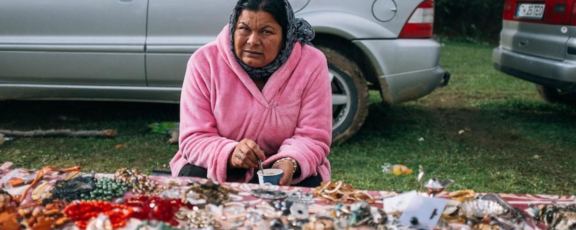 Die bunte Welt eines rumänischen Flohmarkts