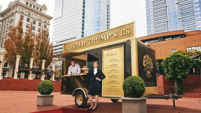 Donald Trump's BS Has Inspired a Food Truck