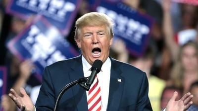 """Trump-Fans in den USA schreien jetzt auch """"Lügenpresse"""""""