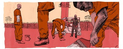 The Terror and Joy of Stepping Outside Prison After 17 Years