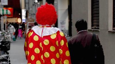 Alle mal abregen: Die 'Horror-Clown-Messerattacke' in Essen war wohl eine einfache Prügelei