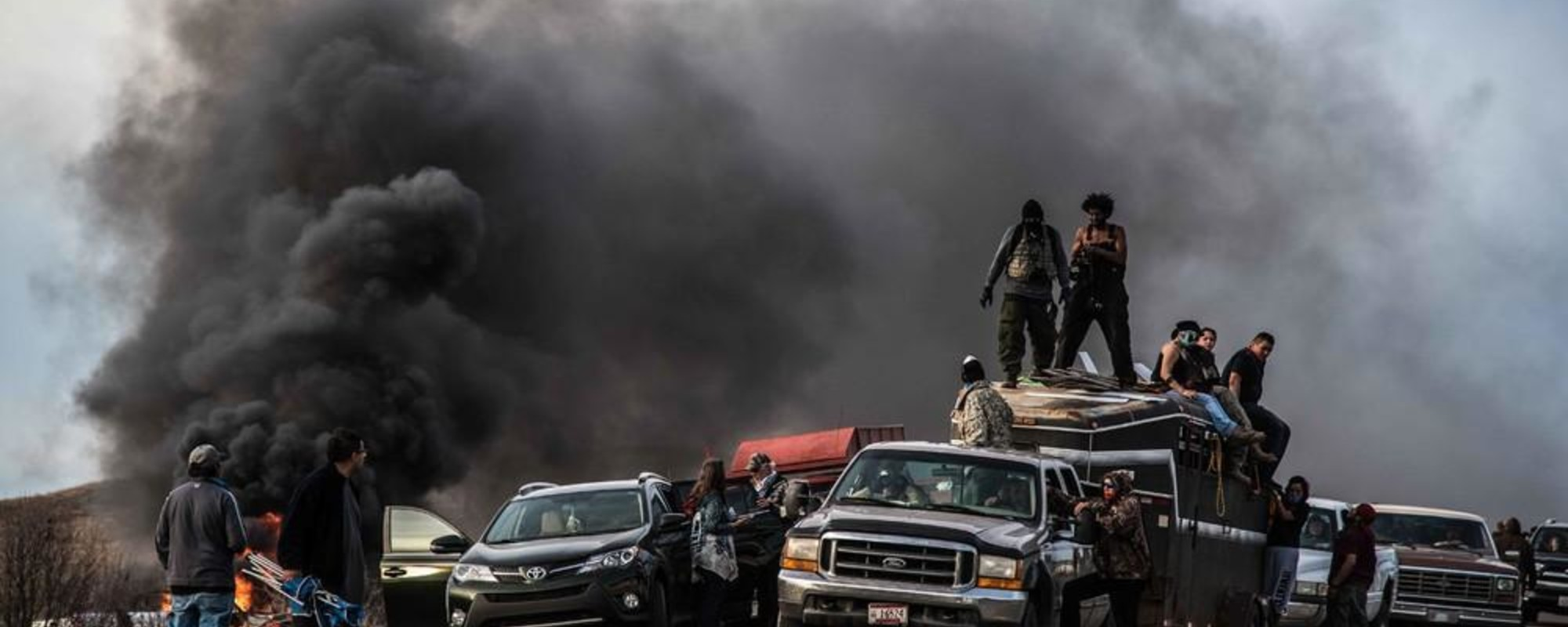 Foto della resistenza di Standing Rock