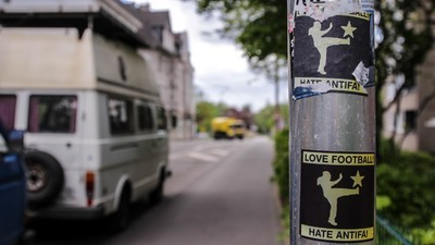 Dortmund wird weder sein Neonazi-Problem, noch die dazu passenden Graffitis los